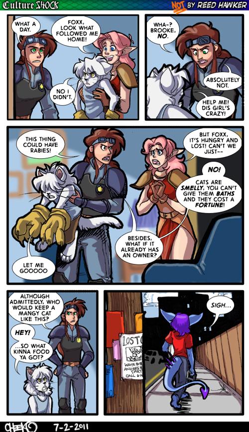Guest Strip: Cheeko